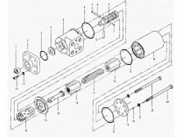 B221-E800C Элемент гидравлической системы рулевого управления