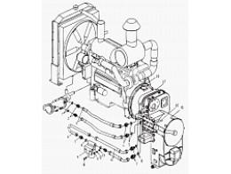 LW560F.1.2 Узел преобразователя крутящего момента трансмиссии
