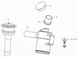 Air filter assembly b7652-1109000/03