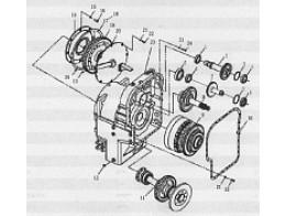 A307a transmission assembly