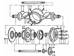B6800D2 AXLE ASSEMBLY