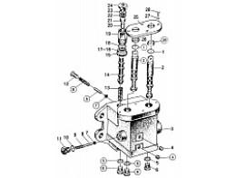 B6800C8 TRANSMISSION CONTROL VALVE