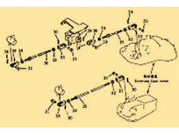 Brake pedal and linkage 1