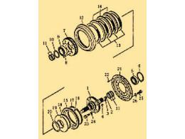 Brake pedal and linkage 2