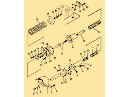 Hydraulic piping (tank to tilt cylinder) 1